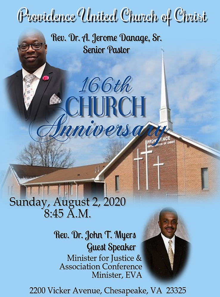 166th Church Flyer